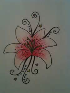 lily tattoo design by sleepwalker26 on deviantart