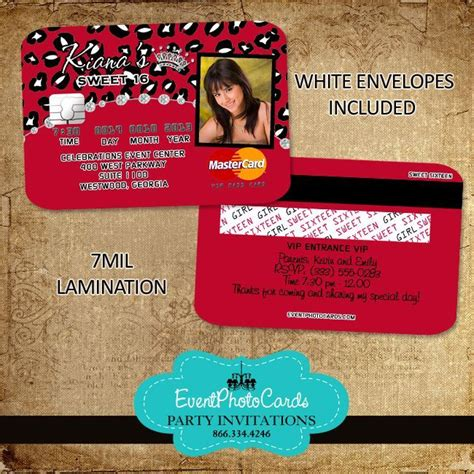 credit card wedding invitation template 21 best images about credit card invitations on