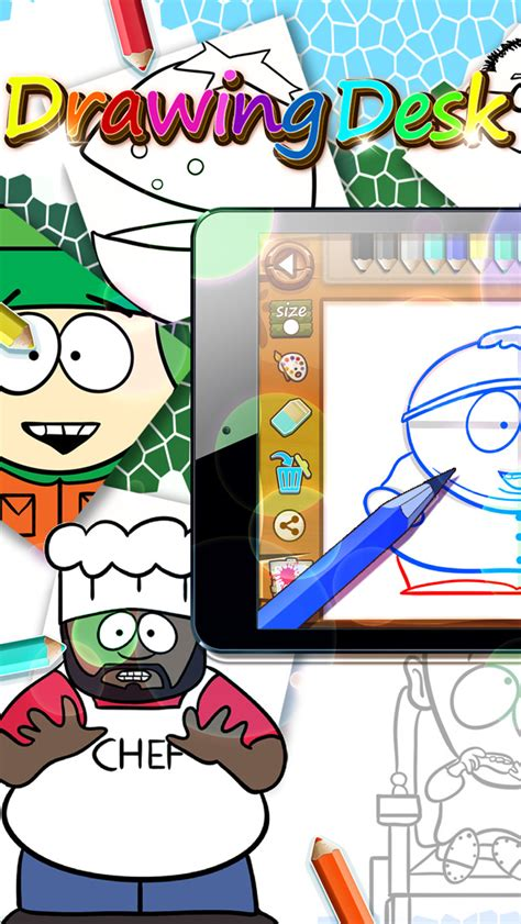 Drawing Desk App by App Shopper Drawing Desk South Park Draw And Paint