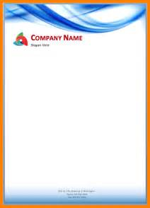 Business Letterhead Samples Free Download 5 Free Company Letterhead Template Download Sample Of