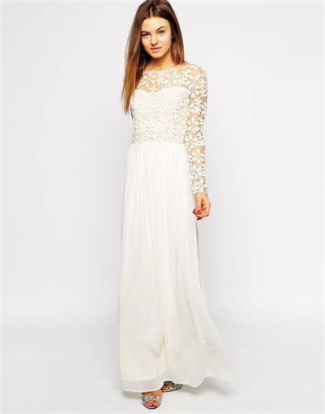 Burbery Maxi Dress looks for less burberry prorsum sleeve lace maxi