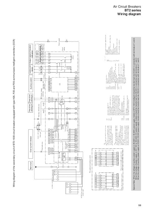 air circuit breaker wiring diagram efcaviation