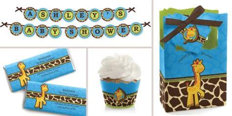 giraffe baby shower decorations for boy giraffe boy baby shower decorations theme