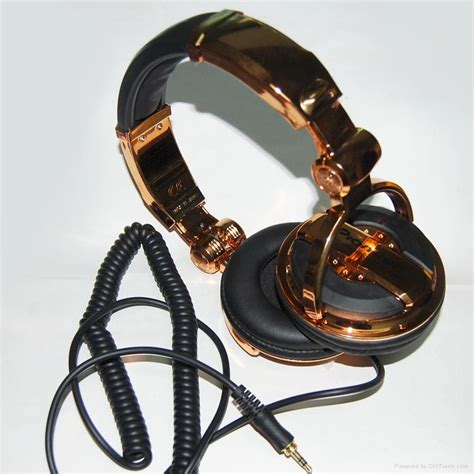 Headset Dj Oem Pioneer Hdj 1000 Headphone Hdj1000 Gold Black Limited pioneer hdj 1000 professional dj headphone 02 pioneer headphones china electrochemical