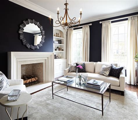 navy blue living room 10 navy rooms to inspire you to pick up the paintbrush