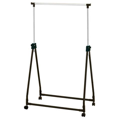 chrome clothes rack chrome collapsible adjustable garment rack coat hanging rail clothes stand black ebay