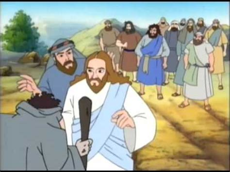 imagenes de la vida de jesus en caricatura los milagros de jes 250 s youtube