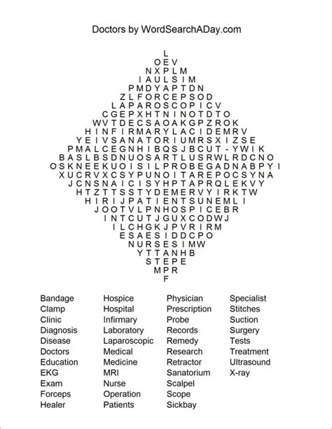 printable word search health health word search printables quotes