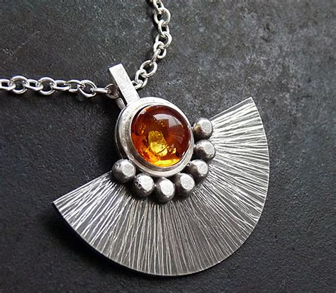 Handmade Silver Jewellery Etsy - items similar to sterling silver necklace with