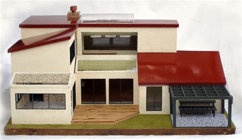 modern dollhouse modern mini houses