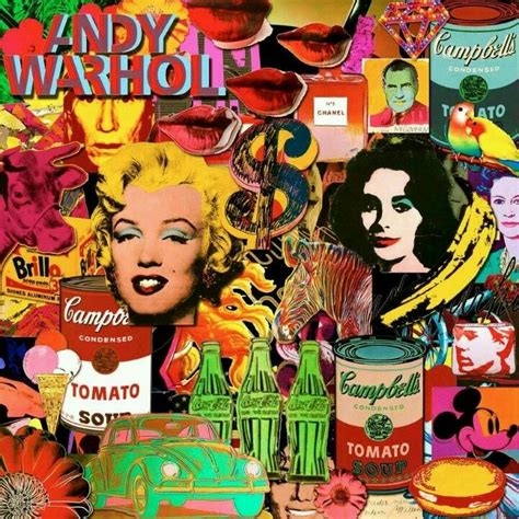 collage pop andy warhol pop collage pop pop