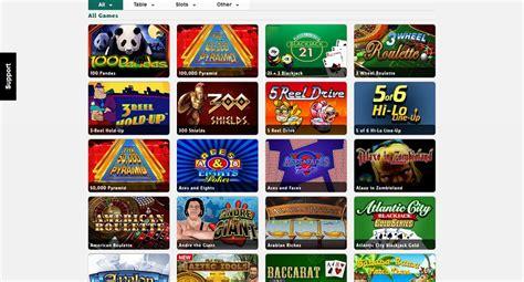 casino table list casino list table