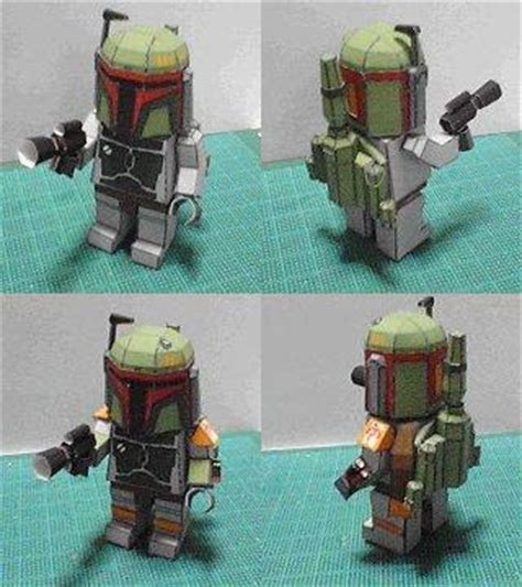 Boba Fett Papercraft - papercraft boba fett this is wars papercraft style