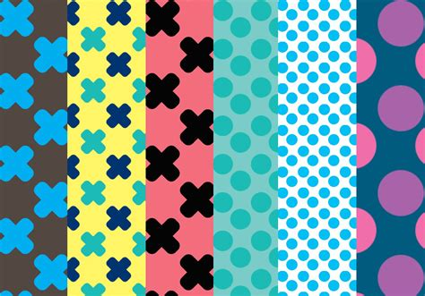 what does pattern free dots crosses patterns