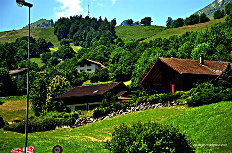 Glass Roof House gstaad a star village of switzerland nature amp travel