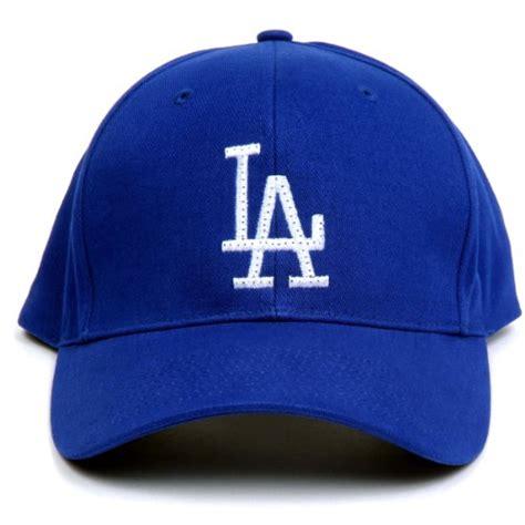 mlb los angeles dodgers led light up logo adjustable hat