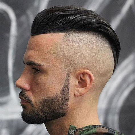 slick back hair shaved sides haircut names for men types of haircuts men s haircuts