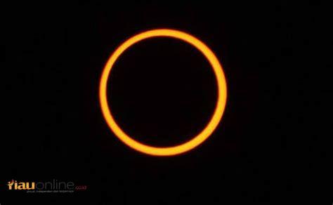 Cincin Yani gerhana matahari cincin 2019 akan muncul di langit istana siak