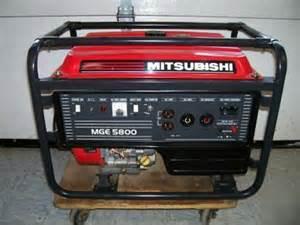 Mitsubishi Portable Generator Mitsubishi Mge 5000 Watt Portable Generator Mge5800