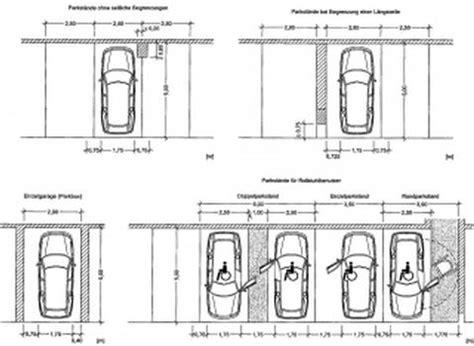 garagen und stellplatzverordnung stellplatzbreite tiefgarage st 252 tzen gel 228 nder f 252 r au 223 en