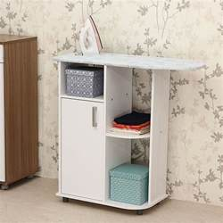 Fold Up Wall Table Ironing Board Storage Cabinet A Simple Solution To