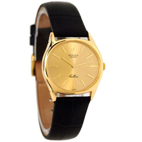 s watches original mens rolex cellini 18ct gold