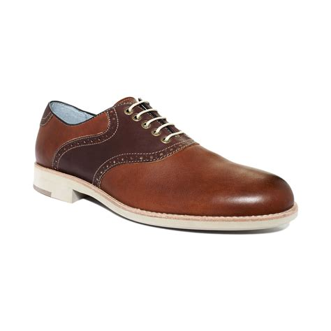 johnston murphy shoes johnston murphy lace up shoes in brown for