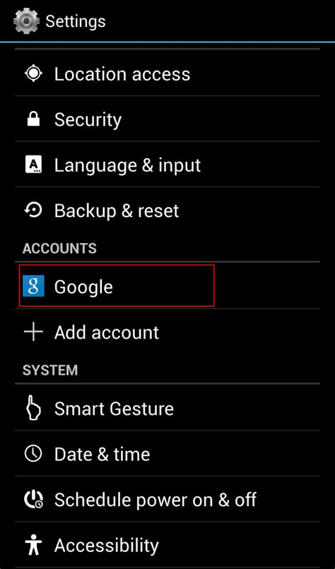 reset gmail tablet how to change the primary gmail account of an android