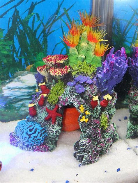 Colorful Fish Tanks Fish Tank Aquarium Ornaments Artificial Sea Coral Large