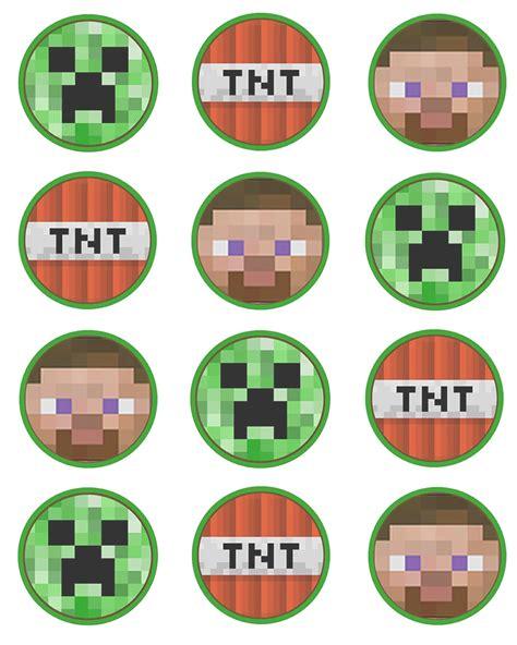 Printable Minecraft Stickers | printable minecraft stickers minecraf set of 12 2