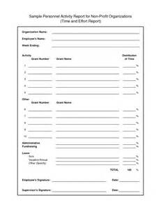 Treasurer Report Template Non Profit best photos of quarterly activity report template