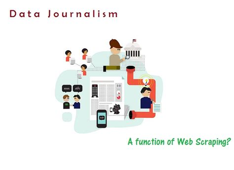 Journalist Requirements by Evolution Of Data Journalism And The Of Web Data