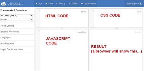 Javascript Tutorial Jsfiddle | testare il vostro codice d3 con jsfiddle con file json