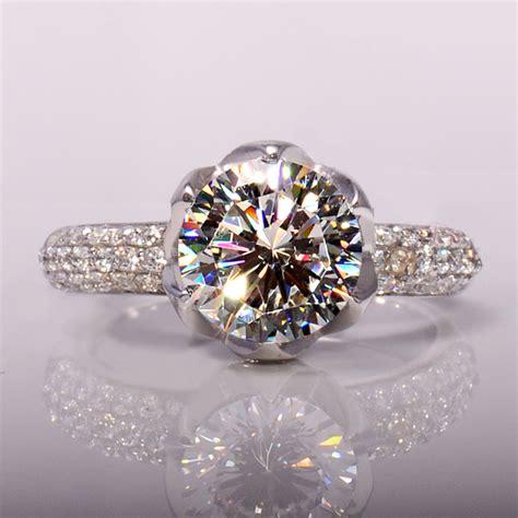 aliexpress buy wholesale 3 carat flower shaped