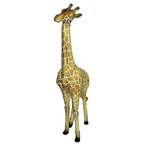 deko braun deko deko giraffe 190 cm hoch braun dekoration bei