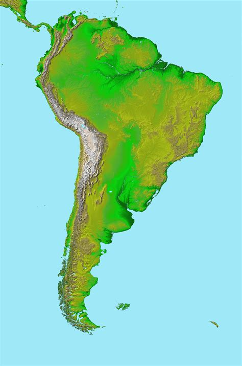 topographical map of south america file topographic map of south america jpg wikimedia commons