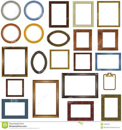different picture frames 22 different picture frames stock photo image 24582320