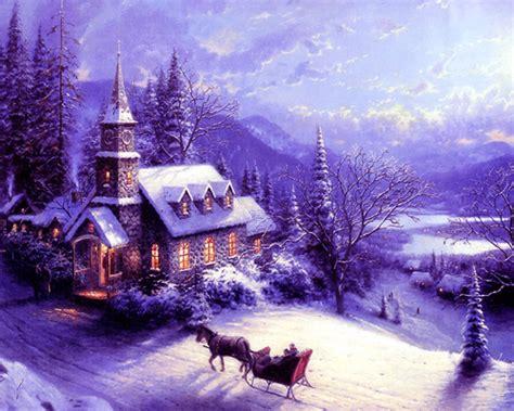merry christmas christmas scenes wallpapers wallpaper hd  uploaded  mansi