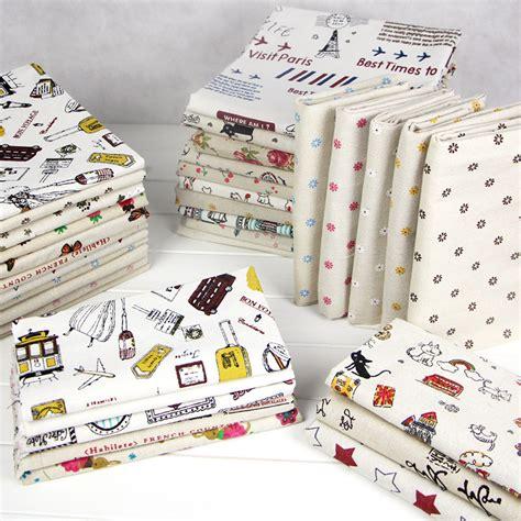 Cheap Patchwork Fabric - vintage diy patchwork fabric cheap linen cotton fabrics