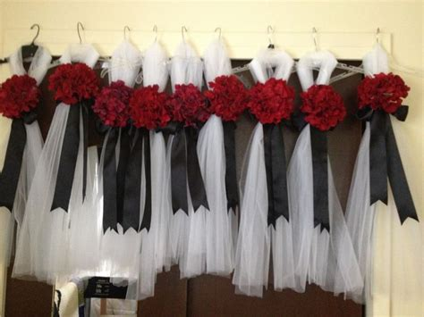 diy wedding aisle decor diy pew decorations not sure if we are doing something but just the white tulle and black