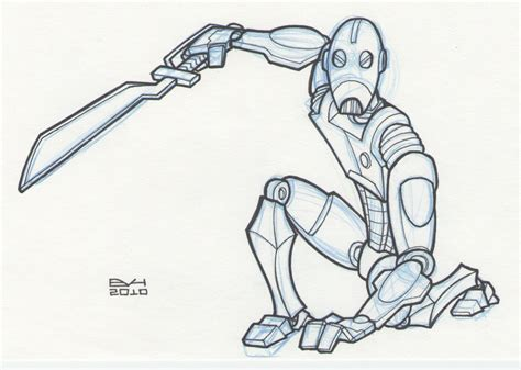 battle droid coloring pages how to draw starwars droid