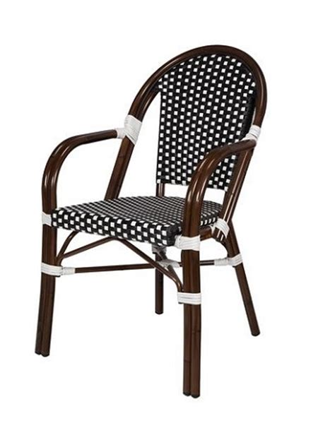 Rattan Bistro Chairs by Rattan Bistro Aluminum Chairs