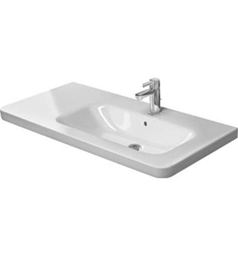Ada Kitchen Sink by Duravit 23261000 Durastyle Asymmetric Porcelain Furniture