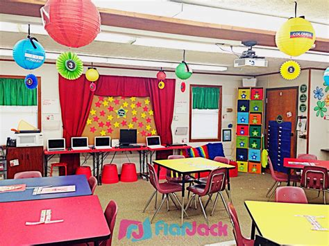 Primary Classroom Decoration Ideas by Flapjack Educational Resources Classroom Reveal Using