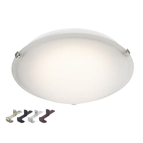 Low Profile Ceiling Lights Led Low Profile 16 Inch Flushmount Ceiling Light 100 Watt Equivalent Ebay