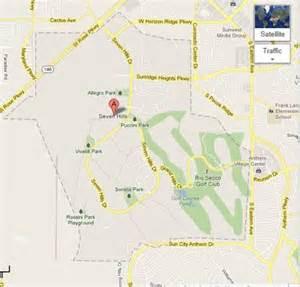 henderson map seven map henderson nevada seven homes