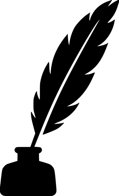 Feather Ink Pen Svg Png Icon Free Download (#554115