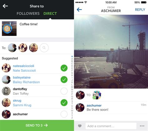 tutorial instagram direct message instagram unveils instagram direct lets you send pics