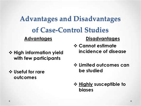disadvantages of cross sectional studies comparing research designs
