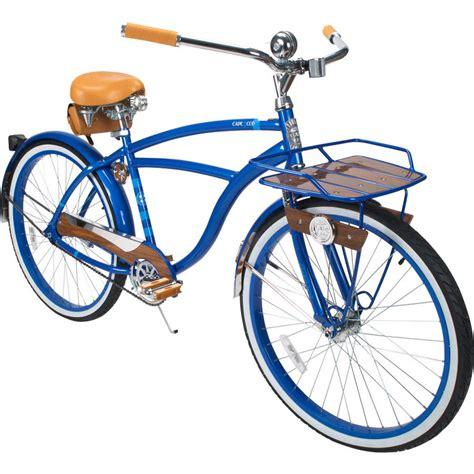 cape cod bicycle 26 in huffy cape cod mens cruiser bike metallic blue ebay